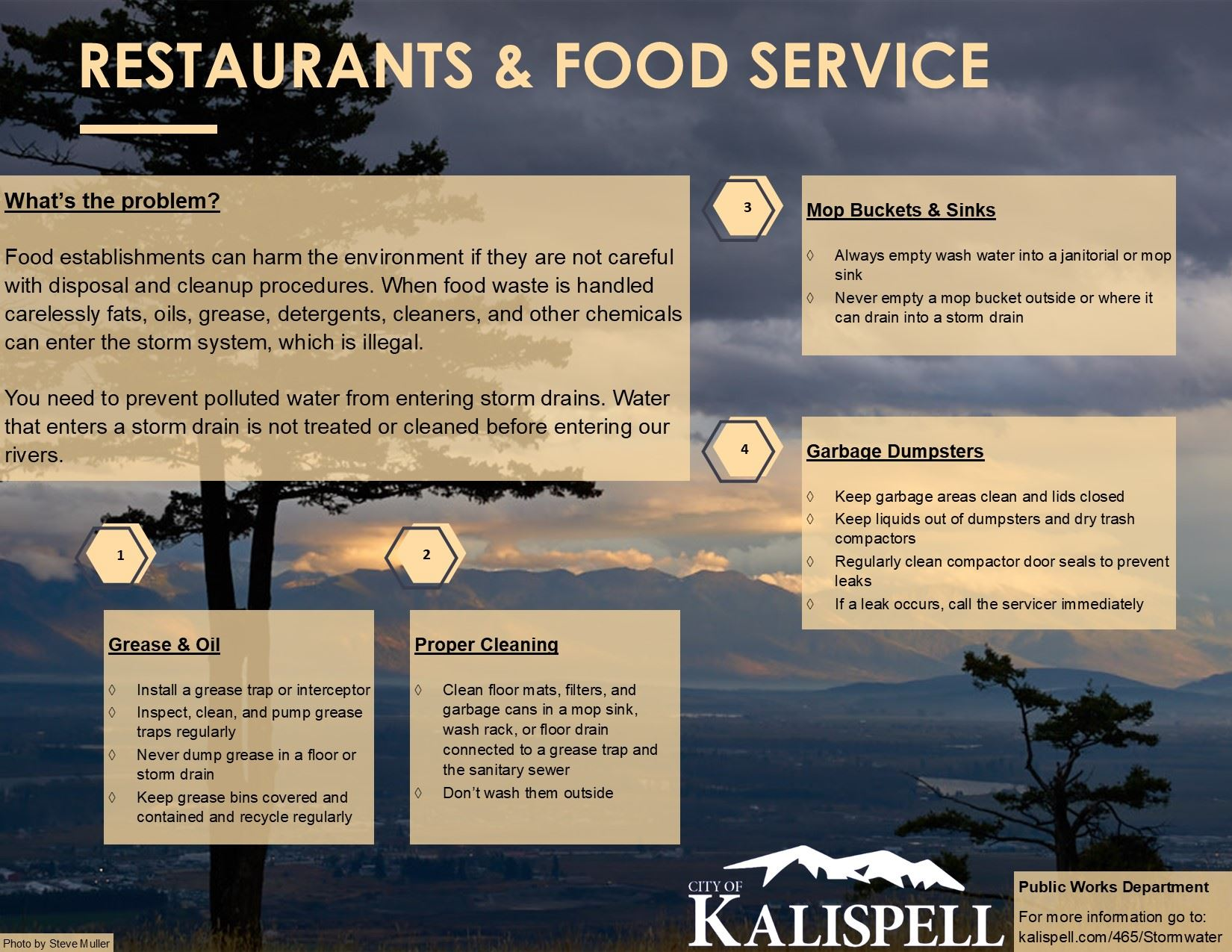 Restaurants and Food Services Best Management Practices