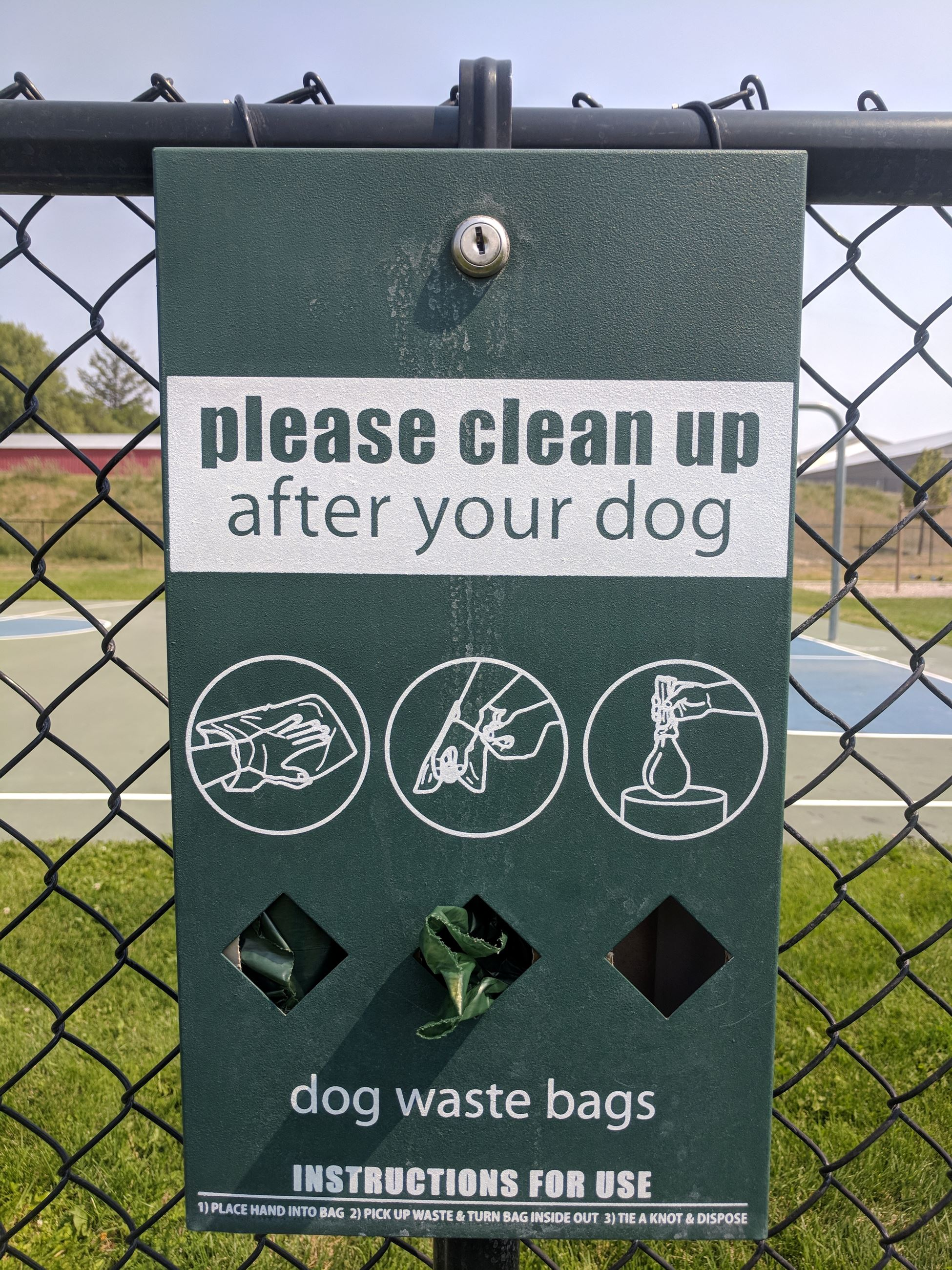 Dog Waste Clean Up Box