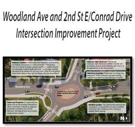 Woodland Ave project map
